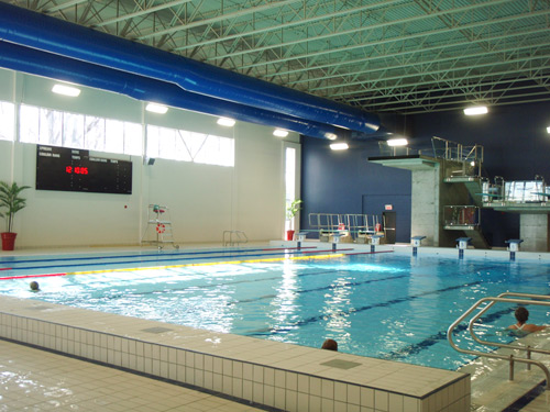 Aquatic timing daktronics chronom trage aquatique for Plaquette piscine